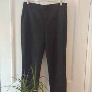 Speckled COS cropped wool pants
